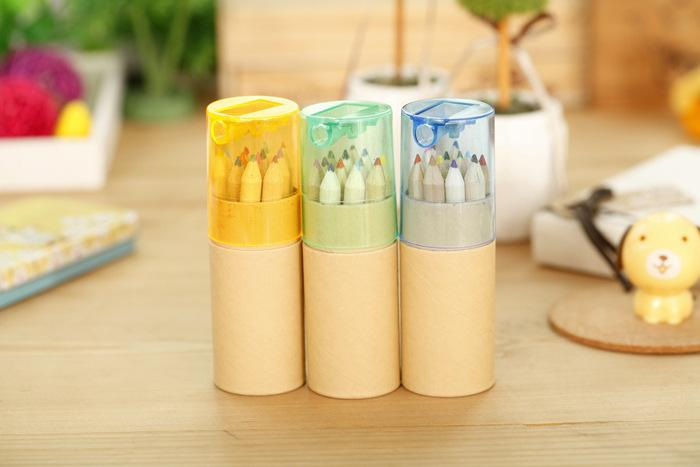 Coloring Pencils Enchanted Forest Malerei Stifte Farbstifte Kreative Schreibwerkzeuge 12 Farben Farbstifte