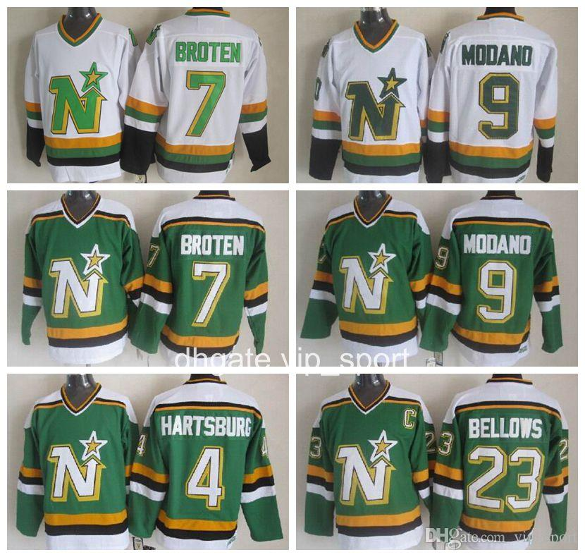 huge selection of dee38 95829 best price stars 7 neal broten white ccm throwback stitched ...