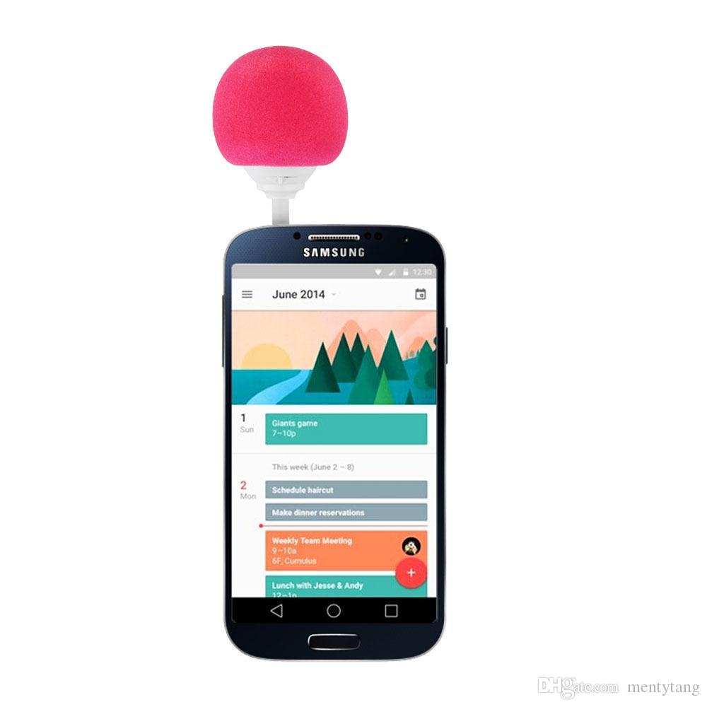 Cute Speakers Stylish 3.5mm Ball Mini Speaker Outdoor Portable Audio Dock For iPhone 6S Samsung Galaxy Note MP3/MP4 Gift