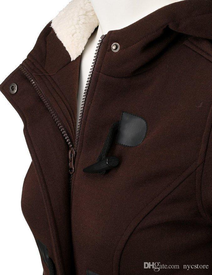 Giacca da cappotto classica in misto lana con fibbia ad artiglio da donna calda invernale