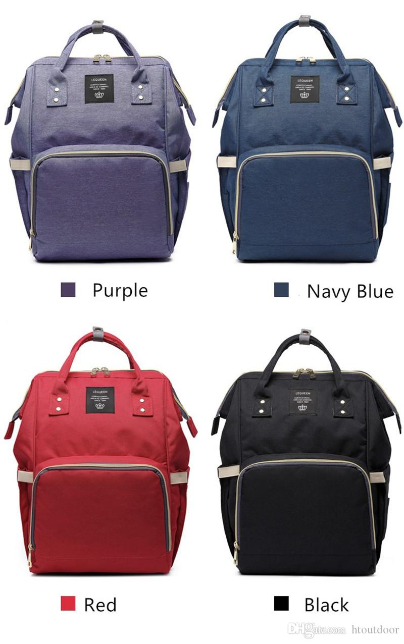 Women Mummy Maternity Nappy Diaper Changing Bag Large Capacity Baby Nursing Bag Outdoor Travel Organizer Backpack