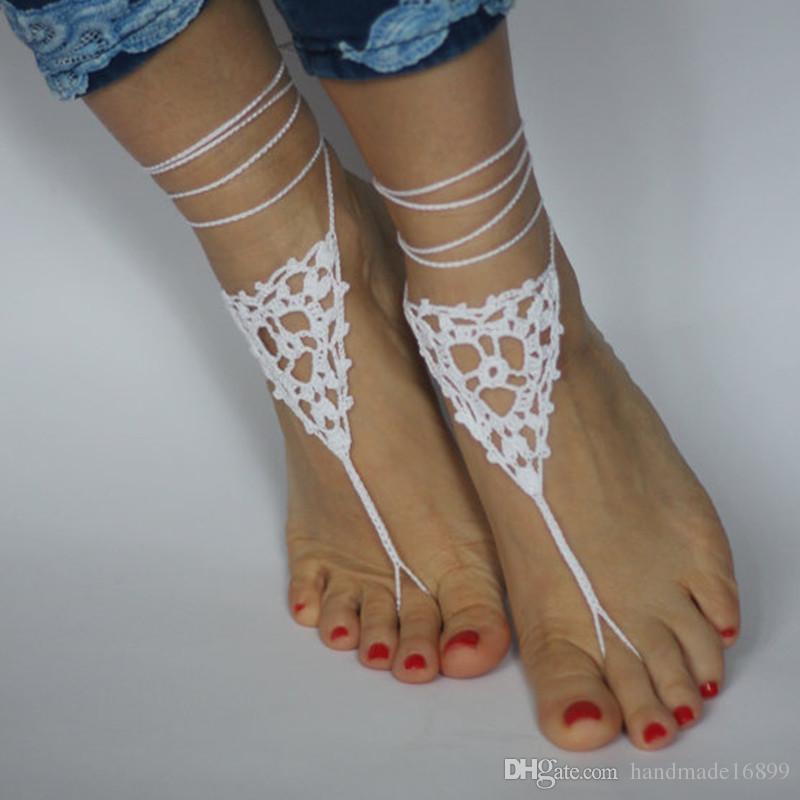bb7d24999 Wedding Barefoot Sandals