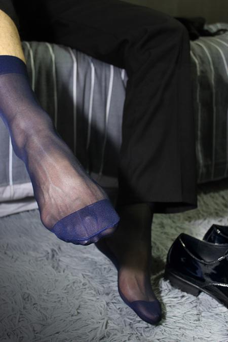 Erkek Ultra Şeffaf İnce Çorap Seksi Şeffaf Resmi Elbise takım elbise çorap Erkek Fetiş Koleksiyonu Çorap Naylon ipek çorap