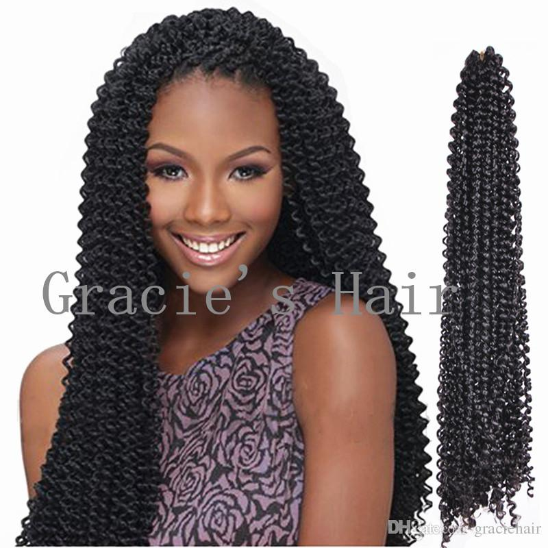 2018 Freetress Braids Kinky Curly Hair Extensios 18inch Freetress Hair BundlesSynthetic Hair ...