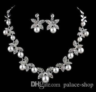 f54dcaeb2042 maravilloso collar de perlas naturales de diamantes conjunto pendientes de  collar 168hkhk