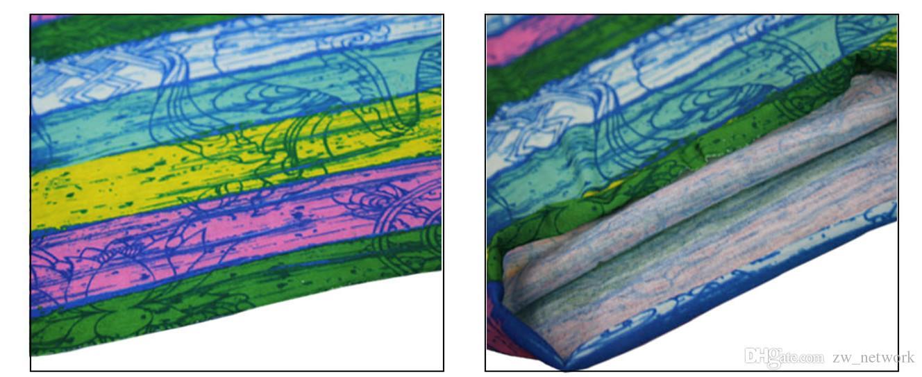 Bandana crâne sans couture Hiphop foulards foulard en plein air Multifonctionnel Magica Sports Motorcyc headcloth crème solaire silencieux foulard7
