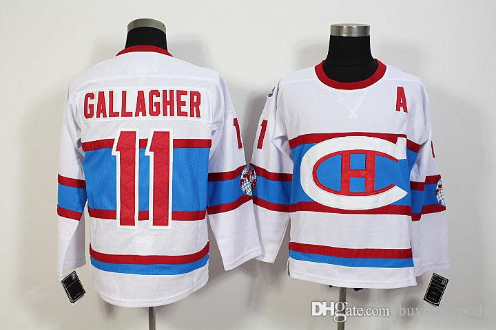 huge selection of 06d75 e7dd8 Brendan Gallagher White Jersey 2016 Hockey Montreal Canadiens Winter  Classic Jerseys Jersey #79 Andrei Markov #76 PK Subban