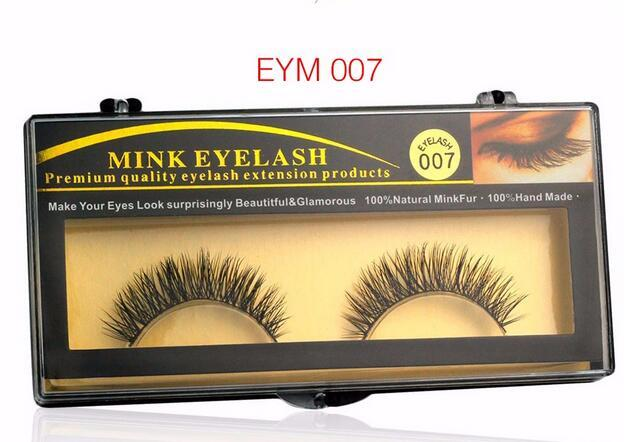 High Quality False Eyelashes Handmade Natural Long Thick Mink Fur Eyelashes Soft Fake Eye Lash extensions Black Terrier Full Strip Lashes