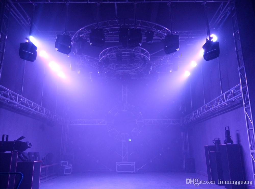2 pz / lotto 36 * 18W RGBWA-UV 6IN1 Zoom Led Moving Head Light Beam