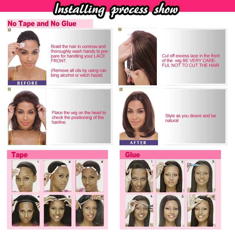Natural hairline brazilian full lace wigs body wave human hair full hand tied density 130% front lace wigs for black women