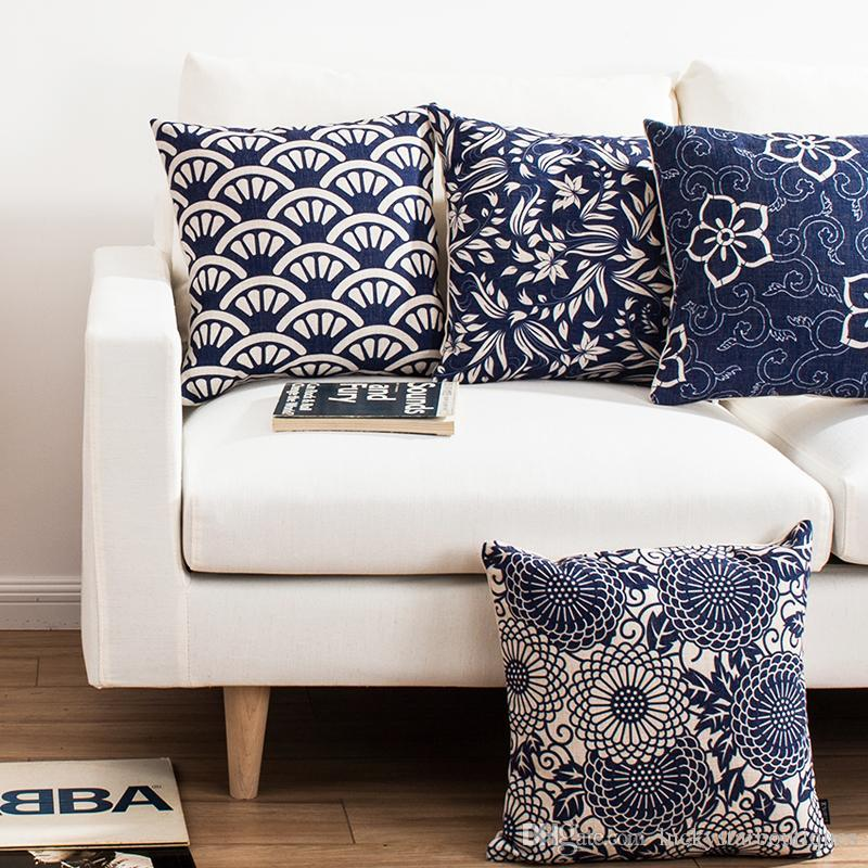 Chinese Style Blue And White Retro Traditional Patterns