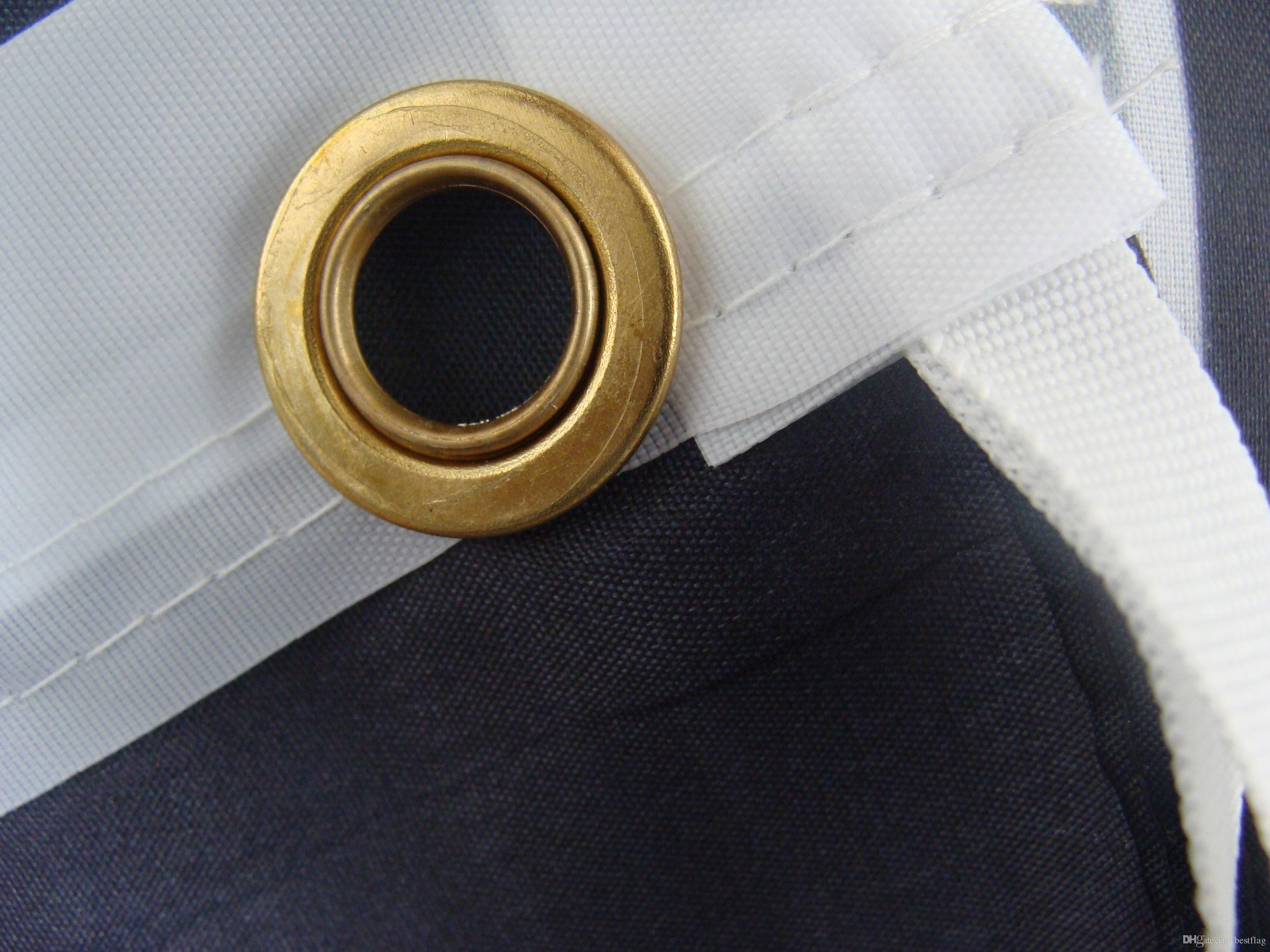 국가 없음 신발 사용자 지정 플래그 비행 디자인 3x5 FT 100D 폴리 에스터 배너 두 개의 금속 그로밋