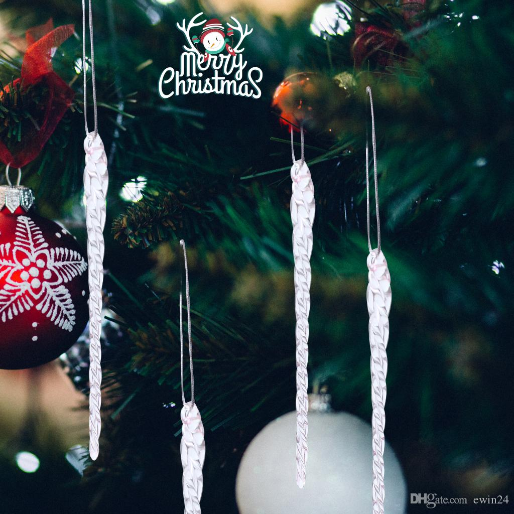 = Wedding Christmas Party Glass Ornaments Tree Decoration Transparent Clear 5.5 Inch Wholesale Hot Sale