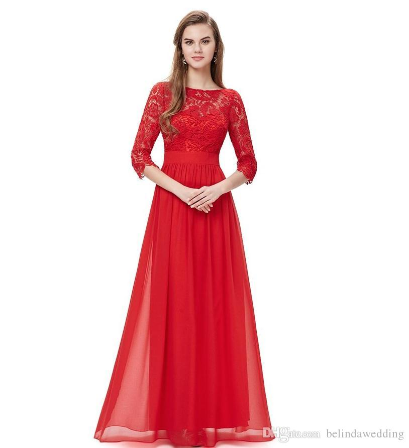 Customize Country Bridesmaid Dress Long Elegant Black Bud Silk ...