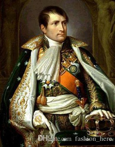 Framed,NAPOLEON BONAPARTE,Pure Handpainted Portrait Art Oil Painting On High Quality Canvas Multi Sizes Free Shipping tn 018