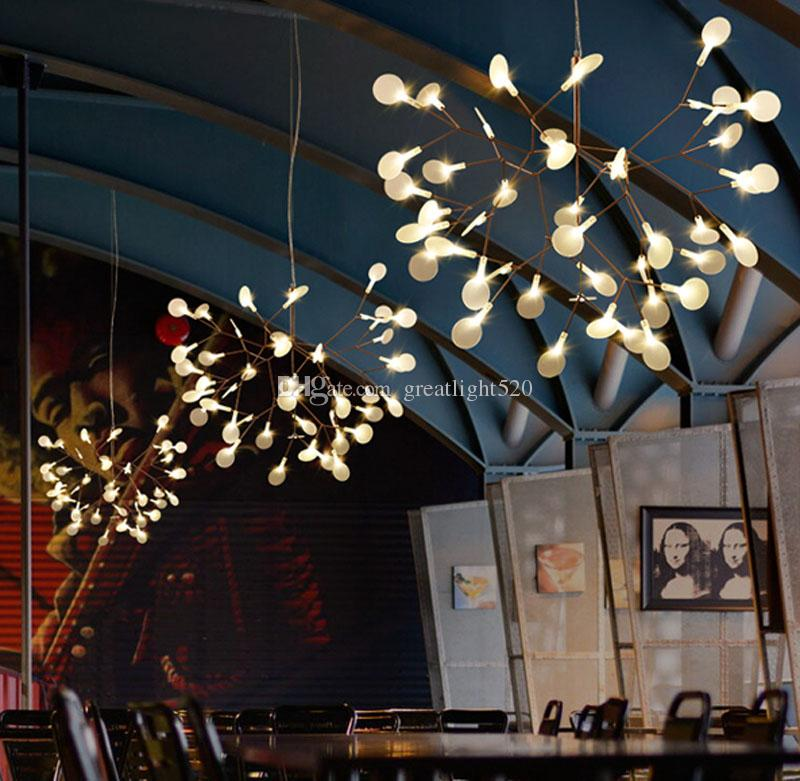 New Arrival Firefly Led Chandelier Acrylic Lamp Branch