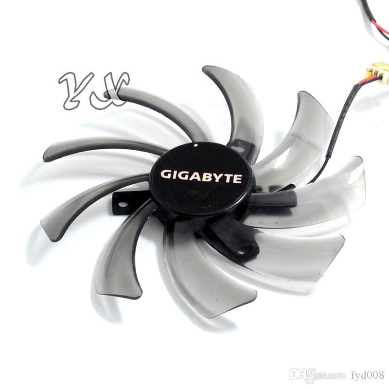EVERFLOW T129215SM 95mm 2 PIN 3 PIN ventilador del enfriador de computadora para Gigabyte GV-N650OC-1Gl 2Gl GV-N550WF2 N56GOC R667D3 R777OC