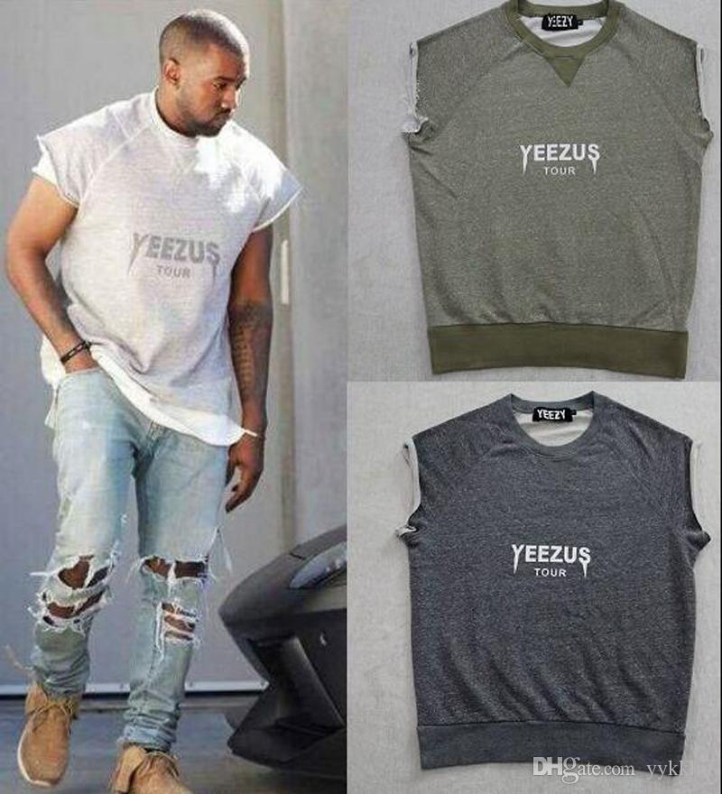 2017 Wholesale Fashion Men Kanye West T Shirt True Brand ...
