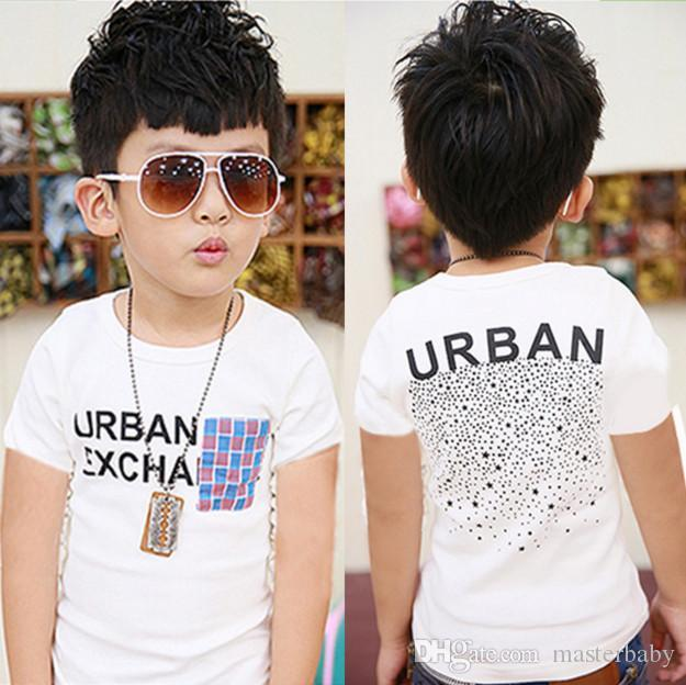 666e112121 2019 Baby Clothes Children T Shirt Boys Designer Clothes White Color 100%  Cotton Short Fashion Clothes Hot Sale From Masterbaby, $29.14 | DHgate.Com