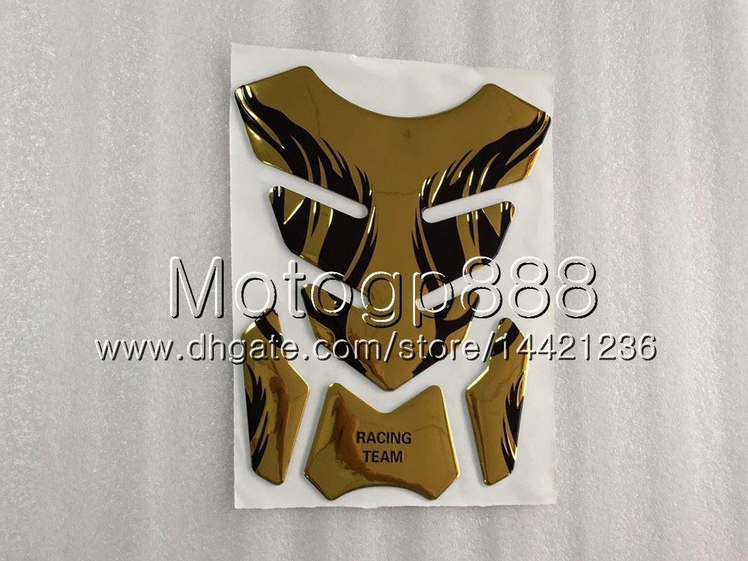 23Colors 3D-Carbon-Faser-Gas-Behälter-Auflage-Schutz für HONDA CBR125R 02 03 04 05 06 CBR 125R CBR125 2002 2003 2004 05 2006 3D-Behälter-Kappen-Aufkleber