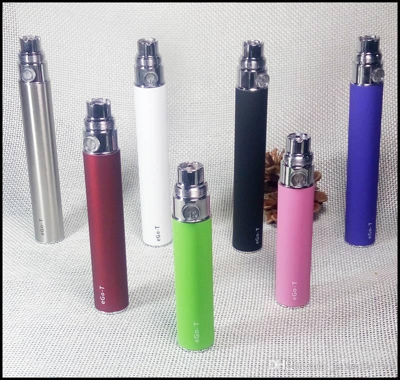 EGO T Battery 650mah with Ego USB Charger 510 thread vape pen battery for e cigarette CE4 evod atomizer vaporizer e cig Batteries
