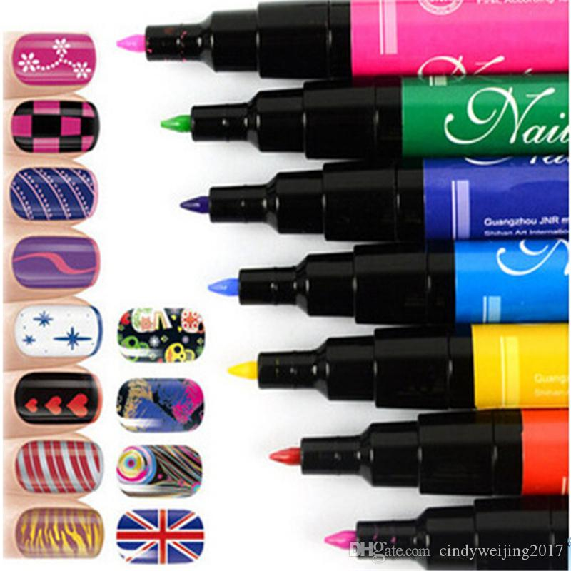 Hot Design Nail Art Pens In 1 Pen Art Pen Painting Paint Drawing Pen