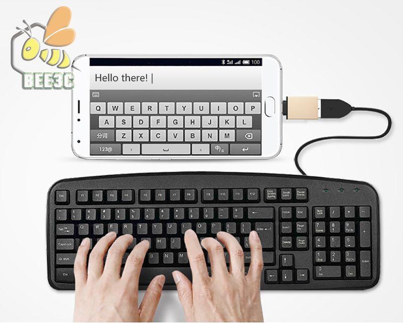 Metal USB C Type C Male to USB 3.0 Female Converter Adapter OTG for MacBook Samsung GALAXY Note 7 MEIZU pro 5 Xiomi 5 Mi5 4c 300ps