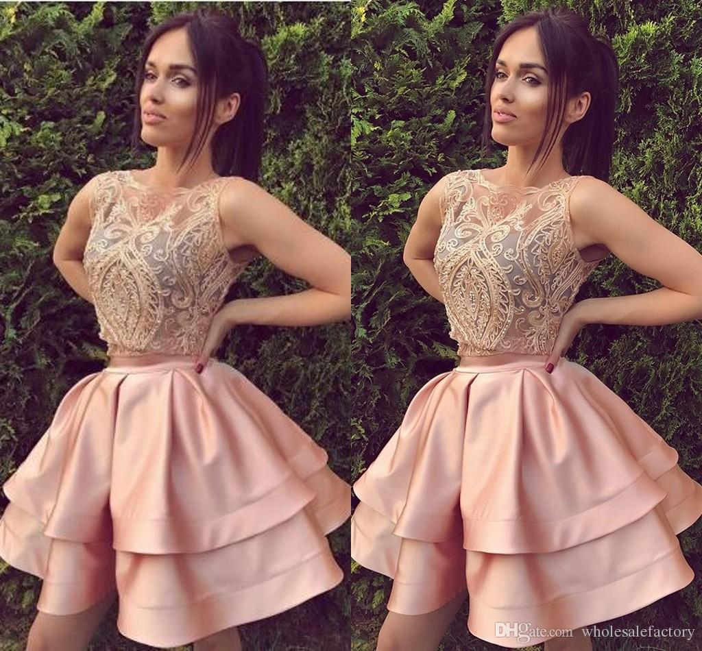 Pink 2 Piece Dresses