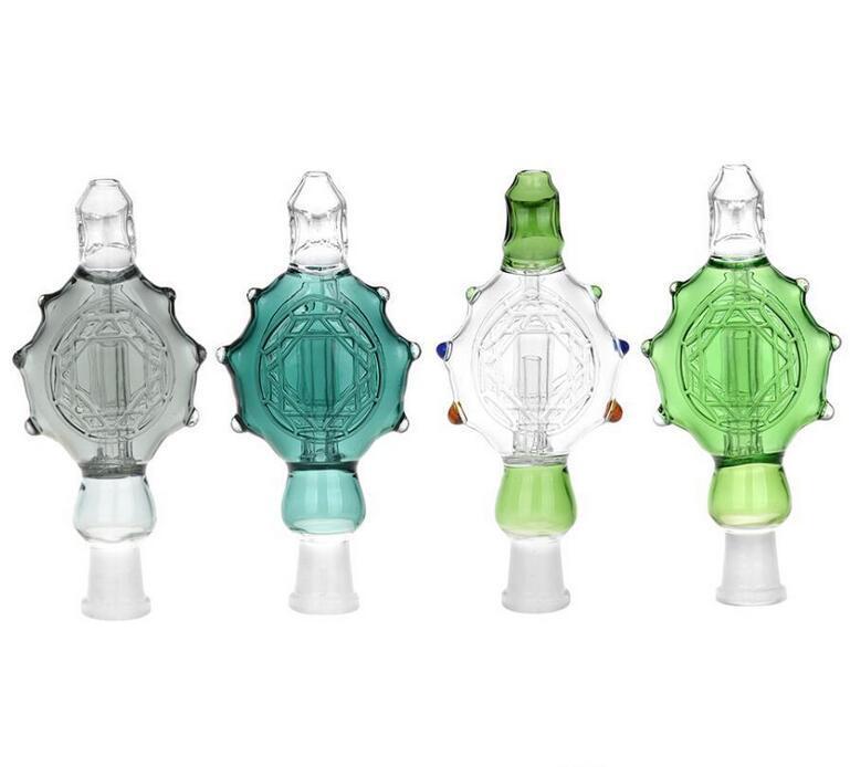 Stock di vendita Nettare Collettore Perc Tubo di vetro a coppa Honey Straw Oil Rig Concentrato Tubi di fumo Tubo bong di vetro