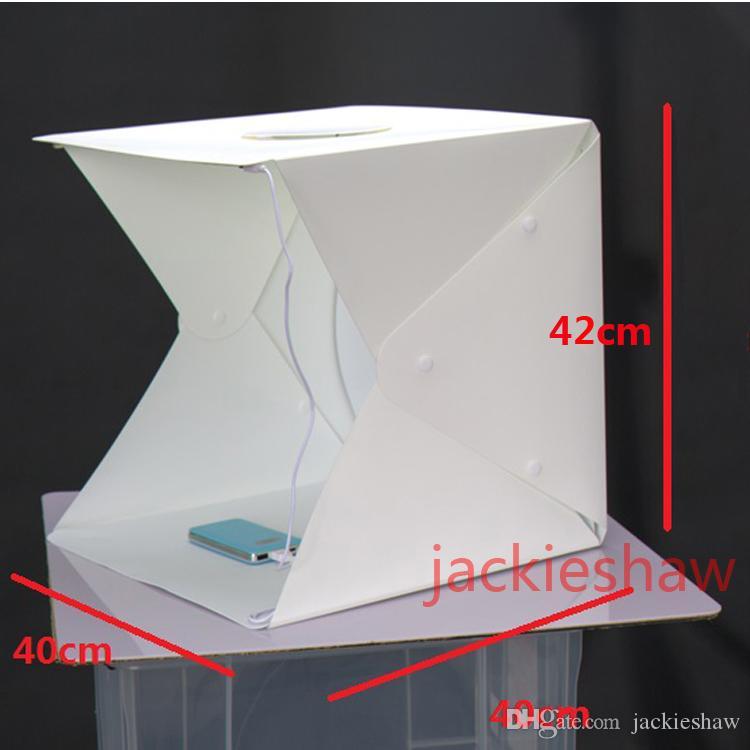 Fotografie Studio Kit Portable Leuchtkasten Für Faltbare Mini Foto Zelt Schm 100% Garantie
