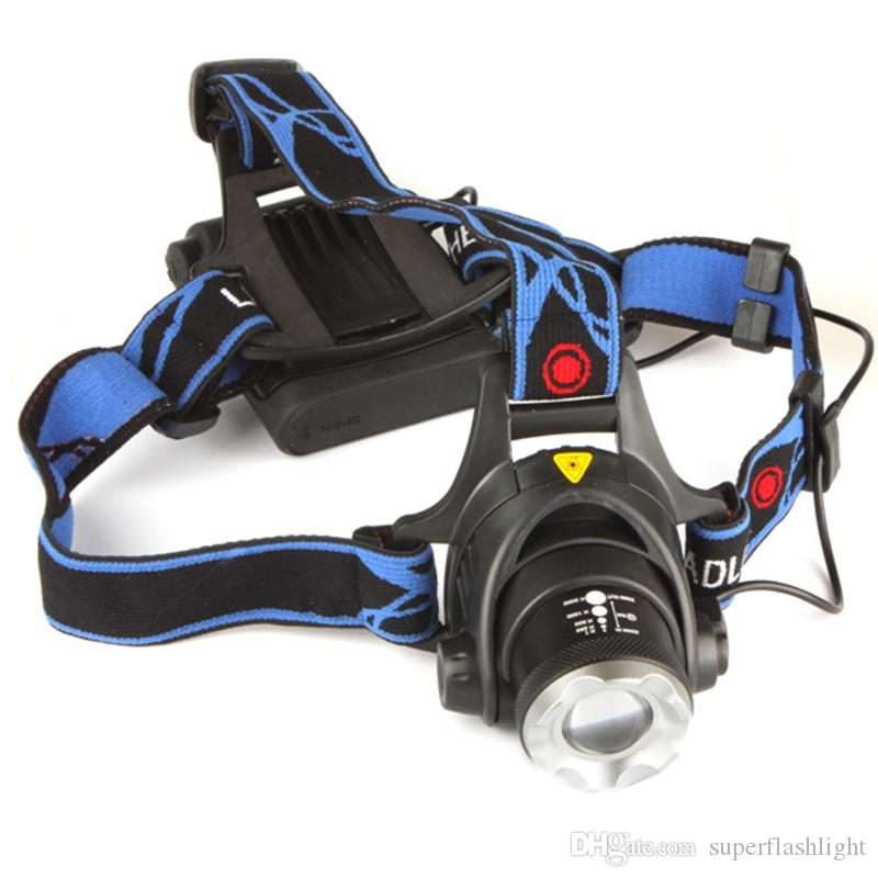 3 Modes 500Lm LB-XL T6 LED Zoomable Headlamp Adjustable Focus Headlight Zoomable Waterproof Aluminum Alloy LEG_506
