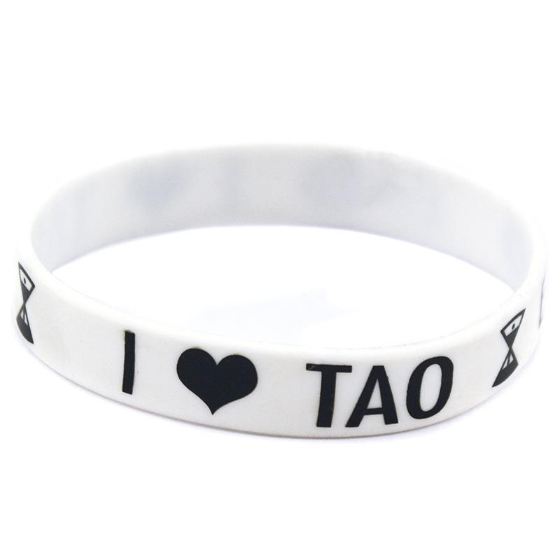 formato adulto EXO gomma di silicone Wristband Grande utilizzate in qualsiasi Vantaggi regalo Music Fans