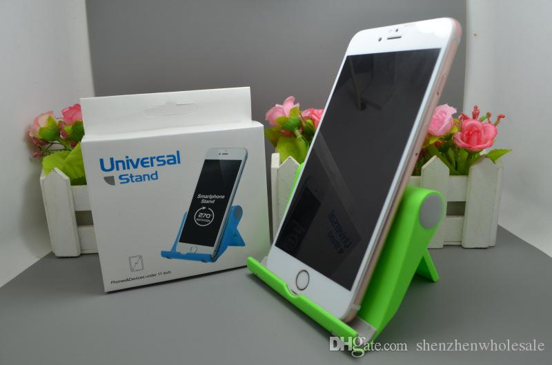 Sıcak Taşınabilir Ayarlamak Açı Standı Cradle Tutucu Esnek Telefon Tablet için Telefon tutucu Destek Braketi Dağı