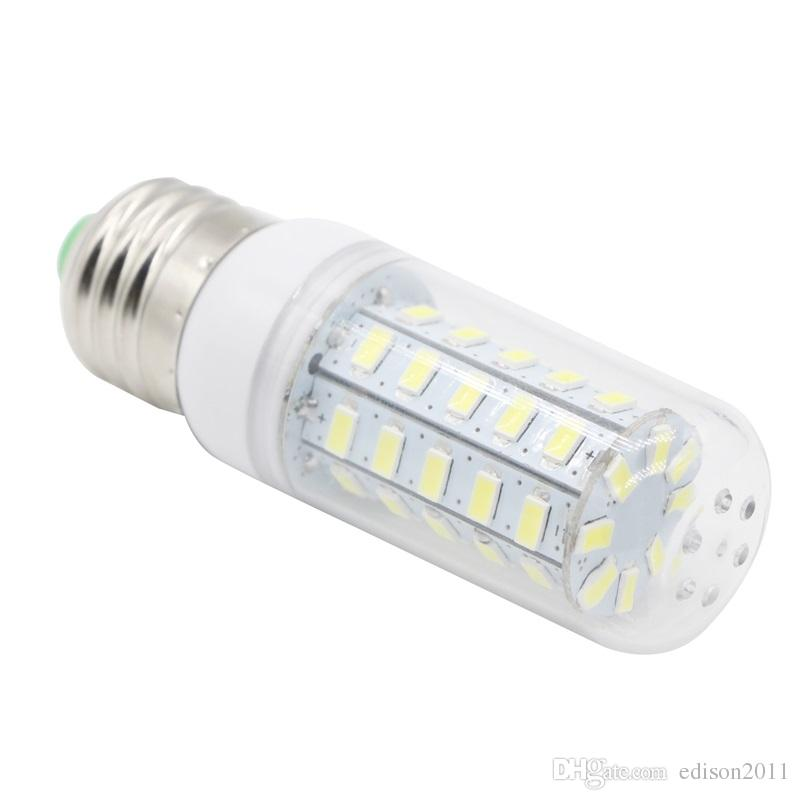 Edison2011 Ultra Bright 5730 SMD 48 LED Corn Light Bulb E27 E14 GU10 G9 Base 110V 220V Warm Pure White LED Lighting