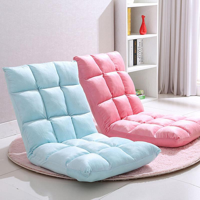 2018 Living Room Furniture Lazy Sofa Floor Tatami Folding Lazy Chair ...