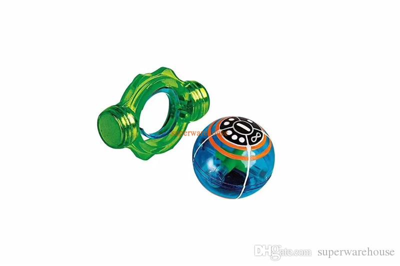 Magic Speed Magneto Spheres Magnetic Flashing Glowing Ball Spinner Toy Stress Reducer Gift for Kids
