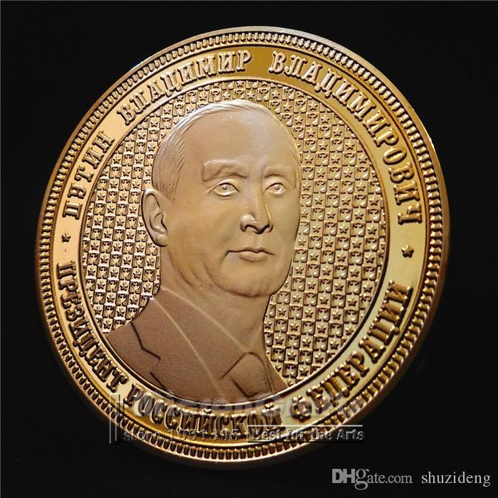 Putin Crimea Theme Commemorative Coin Gold Plated Fine Collection Crafts  New Putin Russia Coins Online with  7.66 Piece on Shuzideng s Store  1c07e3d64c99