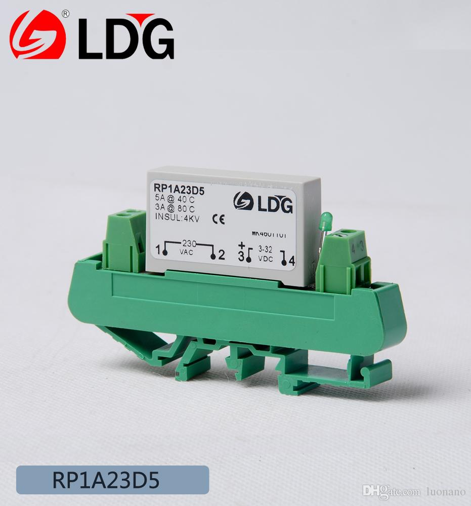2018 Ldg Pcb Base Solid State Relay Rp1a23d5 Replacement Of Carlo Basic Relays Gavazzi One Way No Load Current 5a Ssr Module From Luonano 1077