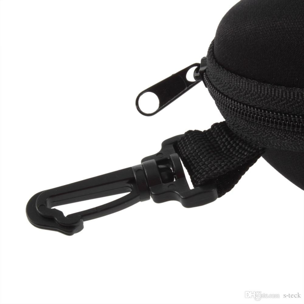 Protable Zipper Clam Shell Hard Case Box Pouch Bag Eye Glasses Sunglasses