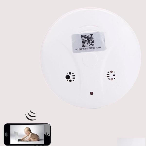 1080 وعاء wifi البسيطة ip كاميرا دخان الكاشف الكامل hd البعيد مراقب P2P CCTV كاميرا مربية كام أمن الوطن مراقبة كاميرا مصغرة DVR