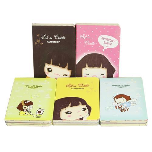 2018 wholesale mini cute diary pocket planner notebook tiny memo