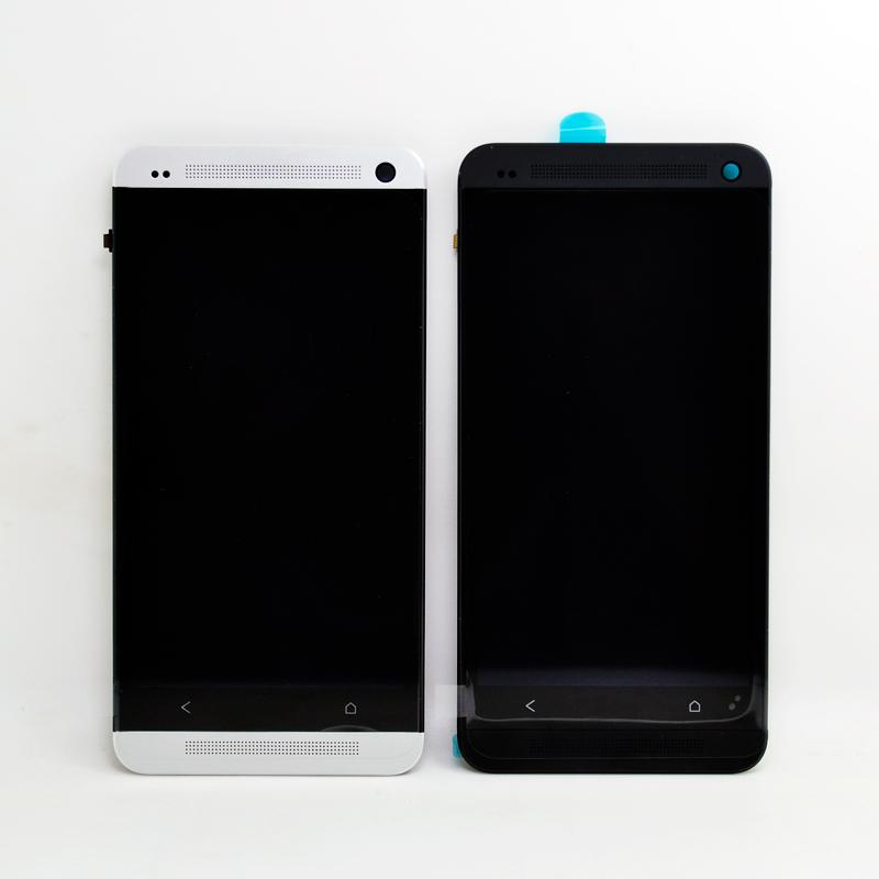 2018 Replacement Lcd Frame For Htc One M7 801e Single Button Lcd ...
