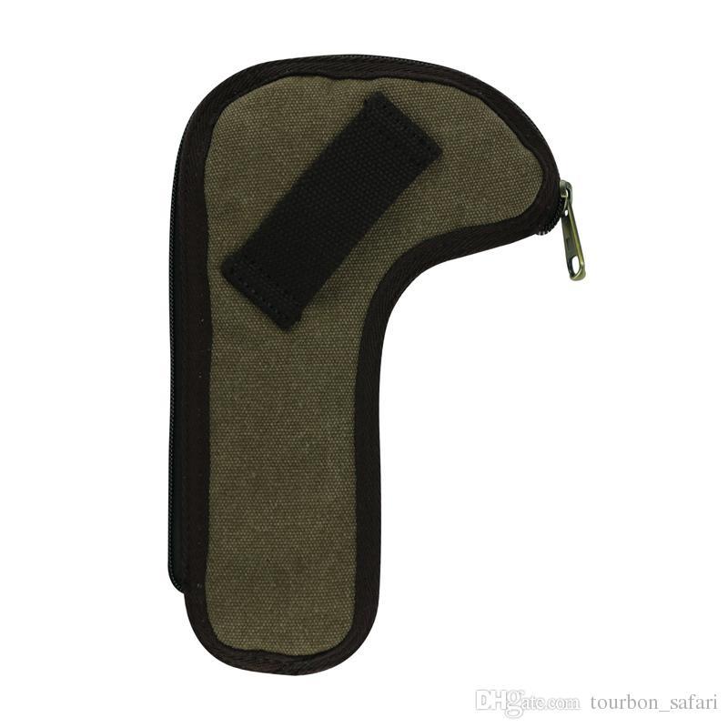 Hunting Shooting Accessories Tourbon Canvas Rifle Bolt Holder Waist Belt pouch Gun Bolt Carrier