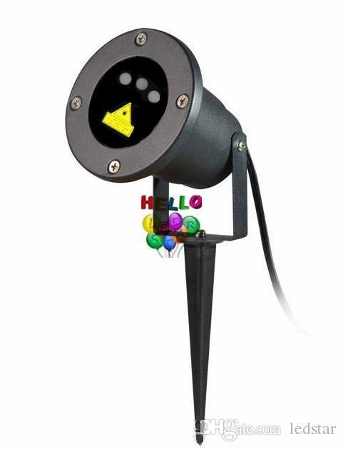 Proyector LED al aire libre con luces láser rojo + verde + azul Firefly christmas luz láser proyector para jardín AC 110-240V + control remoto