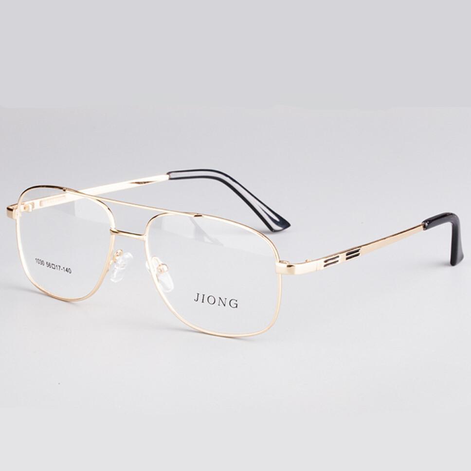 3432d183a1 Wholesale Brand Designer Retro Gold Eyeglasses Frames Men Eye Glasses Frames  For Mens Optical Frame Prescription Eyewear Spectacles Retro UK 2019 From  ...