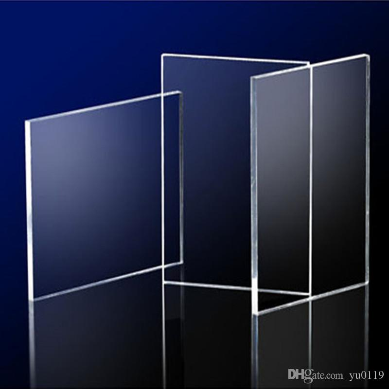 2018 acrylic sheets clear 300x400x3mm plastic transparent business card plexiglass photo frame. Black Bedroom Furniture Sets. Home Design Ideas