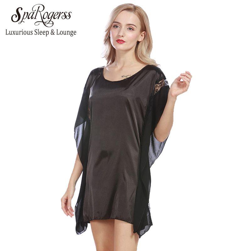 2018 Wholesale Sparogerss Summer Women Short Nightgowns 2017 New ...
