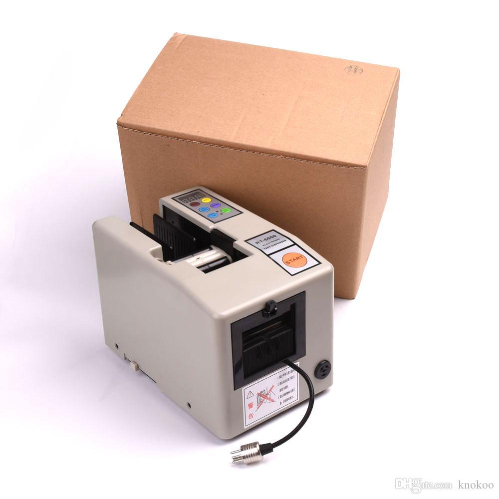 حار بيع Knokoo الشريط كتر الكهربائية التلقائي لاصق آلة قطع مصدر 110V / 220V RT-5000