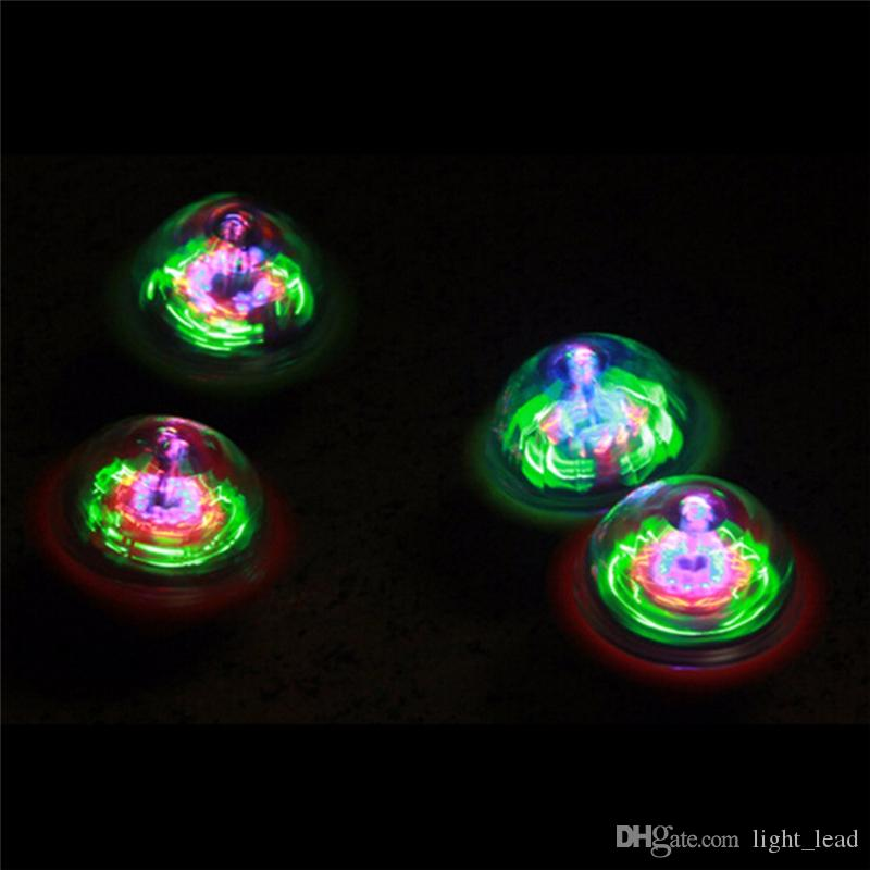 Kids Toys LED Gyro Light Glow Gyro Toys Friction Tops Spinning Tops of Children Kid Toys Gift