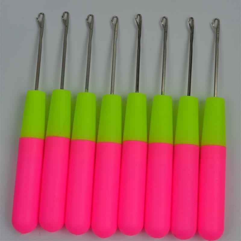 Haken-Nadeln für das Haar, das strickend strickt und häkeln Jumbo-Flechtenhaar-Nadel-Berufshaar-Zusatz-Werkzeuge DHL geben Verschiffen frei